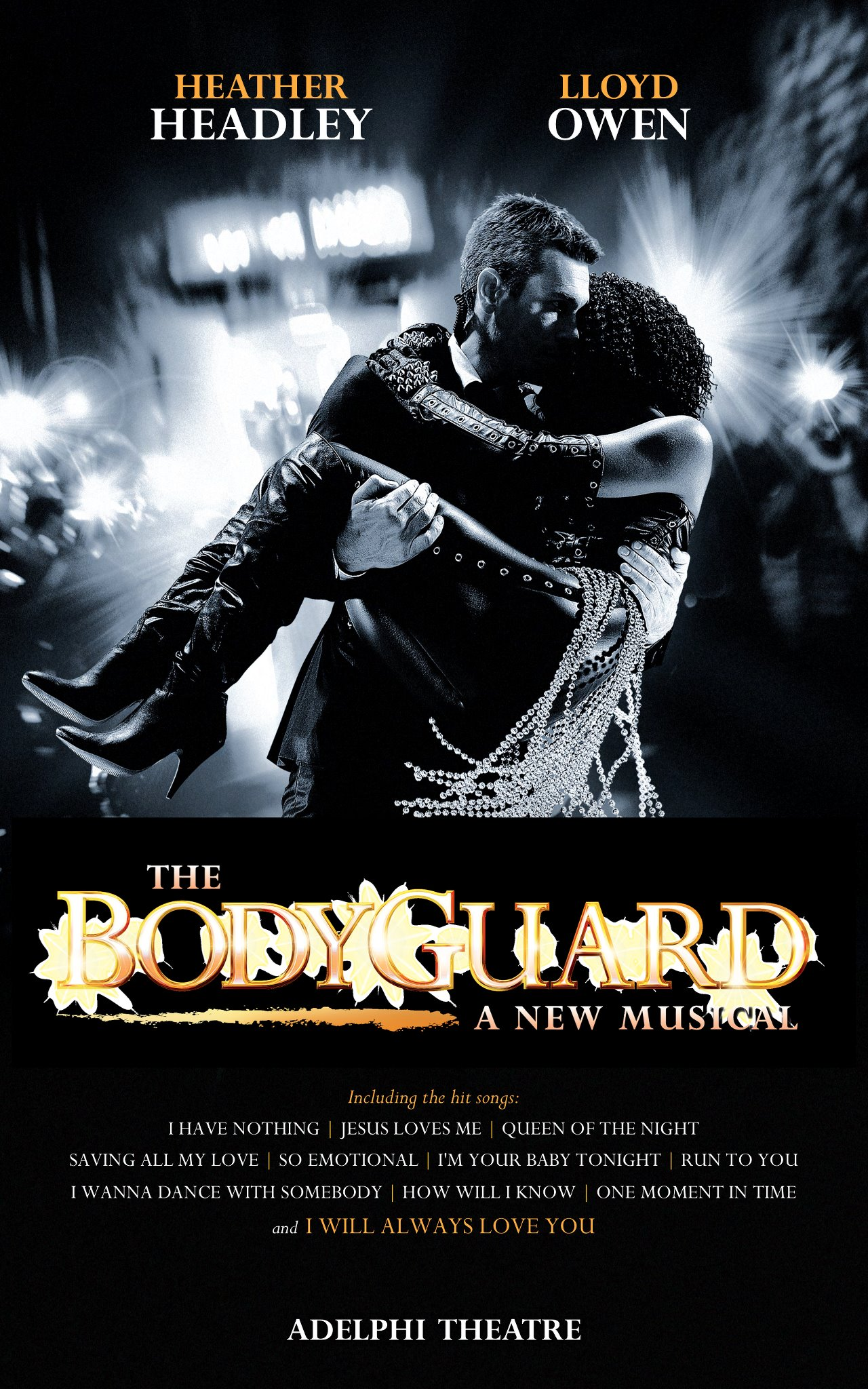 """Heather Headley starring in the West End debut of """"The Bodyguard"""". Photograph courtesy Heather Headley"""
