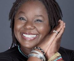 Randy Crawford. Photograph by Lionel Flusin