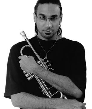 Nick Ali, better known as Brownman, a dynamic Trinidadian performer. Photograph courtesy Brownman Music Inc/Steve Stober