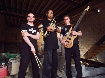 Brownman Electryc Trio, 2007 Canadian National Electric Jazz Group of the Year. Photograph courtesy Brownman Music Inc/Jason Hendrik
