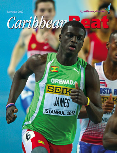 Up-and-coming Grenadian track star and potential Olympic medallist, Kirani James. Photo Getty Images/Michael Steele
