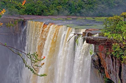 The magnificent Kaieteur Falls. Photograph by Terry Kuet