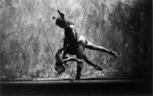 Carole Orane Andrade and Terry Jackson performing Avia Egyptus, chor. L'Antoinette Stines; L'Acadco, 1986