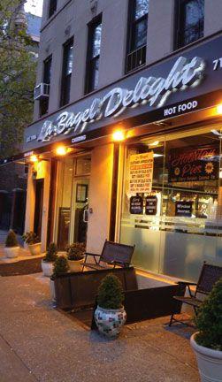 La Bagel Delight in Park Slope, Brooklyn. Photograph by Luke Raymond-Guillen