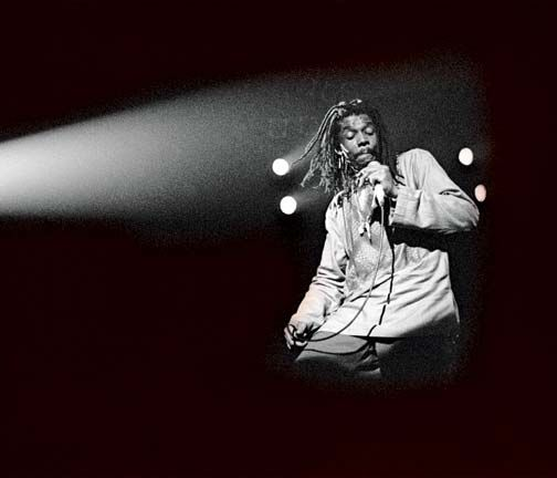 Peter Tosh was shot dead when a break-in at his home went wrong. Photograph by David Corio