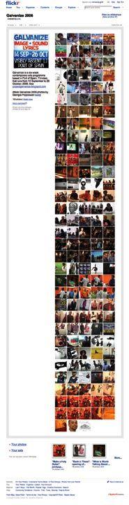 Galvanize Flickr set. Photograph courtesy the Galvanize Advisory Team