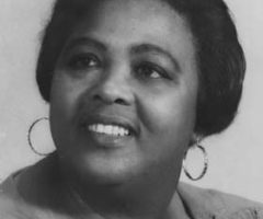 Louise Bennett-Coverly, poet, entertainer, and Jamaican national icon. Photograph by the National Library of Jamaica