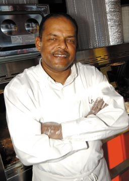 Viburt Bernard of Sybil's Bakery. Photograph courtesy Viburt Bernard