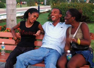 Emancipation Park provided much-needed open space for Kingstonians. Photograph by Varun Baker