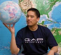 GAP Adventure founder Bruce Poon Tip. Photograph courtesy GAP Adventures