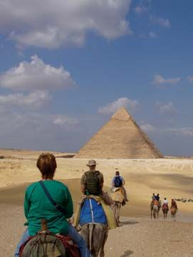 Egyptian family adventure. Photograph courtesy GAP Adventures
