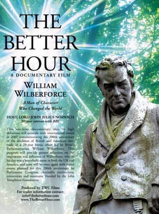 Poster for the TWC Films documentary The Better Hour; courtesy TWC Films/www.thebetterhour.com