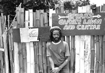 Burning Spear`s home doubled as a local. Photograph by UrbanImage.tv/Adrian Boot