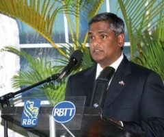 Suresh Sookoo, CEO, RBTT Financial Group. Photograph courtesy RBTT Financial Group
