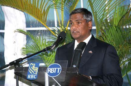 Suresh Sookoo, CEO, RBTT Financial Group. Photograph courtesy RBTT Financial Group