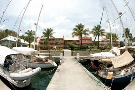 CrewsInn Hotel and Yachting Centre, Trinidad–a sea-front resort. Photographer by Andrea De Silva