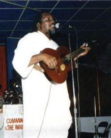 Ras Shorty in 1991. Photograph courtesy the Trinidad Express
