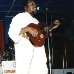 Ras Shorty in 1991. Photograph courtesy the Trinidad Express
