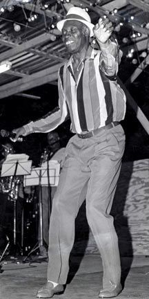 The late great Lord Kitchener in 1988. Photograph courtesy the Trinidad Express