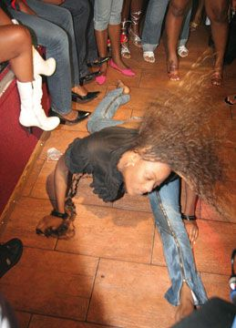 A dancer does the Dutty Wine. Photograph by Roysweetland@gmail.com