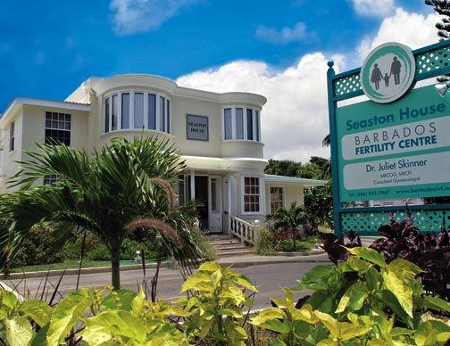 Seaston House, Barbados. Photograph courtesy the Barbados Fertility Clinic