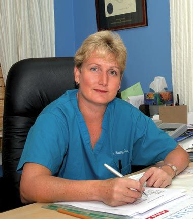 Dr Juliet Skinner. Photograph courtesy the Barbados Fertility Clinic