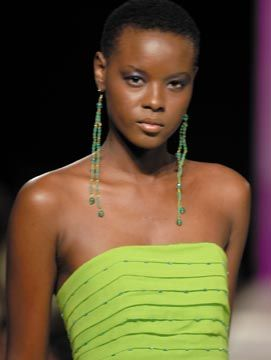 Zadd and Eastman of Trinidad at Caribbean Fashion Week, Jamaica. Photograph courtesy Zadd and Eastman