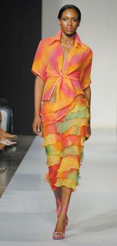 Fashion by Trinidad's Heather Jones. Photograph courtesy Pulse