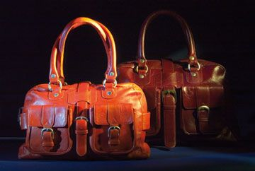 Ellie Weekender bags from Ken Williams. Photograph courtesy Roger Edralin