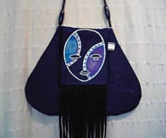 A bag from Jendayi's afrocentric line. Photograph courtesy Karen Watson