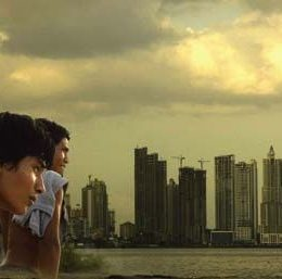 A still from The Wind and the Water (2008), directed by Vero Bollow and the Igar Yaga Amerindian Collective of Panama. Photograph courtesy Vero Bollow