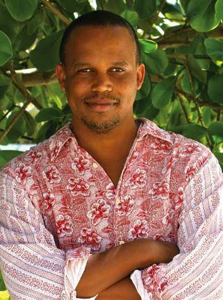 Filmmaker Kareem Mortimer of the Bahamas. Photograph courtesy Kareem Mortimer