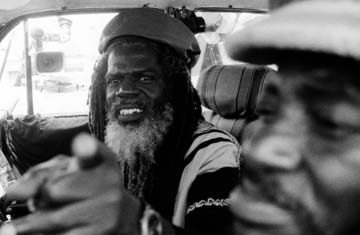 Woolton Harrison a.k.a. Jah Bull in a scene from Roots Time. Photograph courtesy Mistika Films