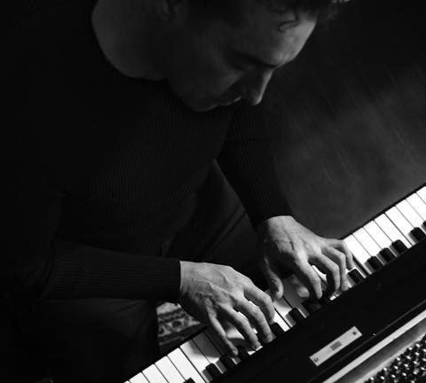 Swiss keyboardist Alex Bugnon. Photograph courtesy Anguilla Jazz