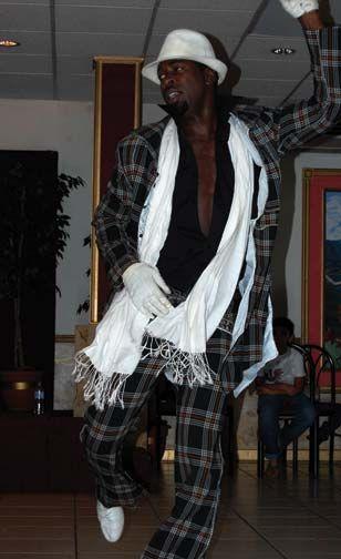 Leon Rose, performing at Salsa Fiesta 2009 in Trinidad. Photograph courtesy Helen Shair-Singh