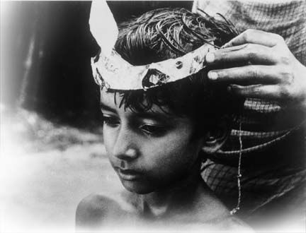 Film still from Pather Panchali. Photograph courtesy Trinidad and Tobago Film Festival 09