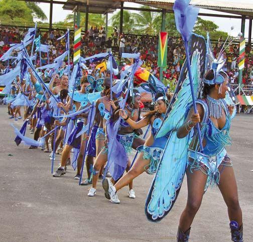 Mashramani. Photograph by the Guyana Tourist Board