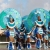 Masqueraders crossing the stage during Vincy Mas 2007. Photograph courtesy CDC/Kingsley Roberts