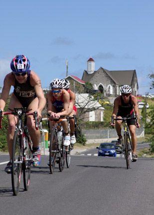 Try a triathlon in Nevis. Photograph courtesy SKN Triathlon Federation