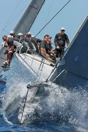 Antigua sailing week. Photograph by Tim Wright