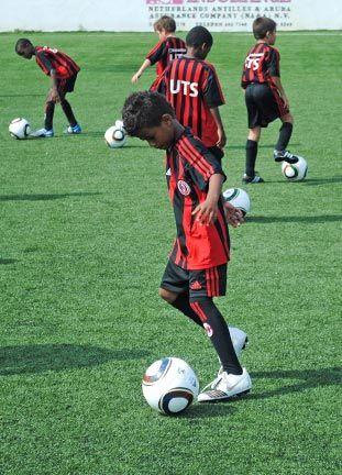 Curaçao, Aruba soccer. Photograph courtesy www.camscuracao.com