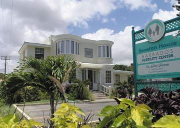 Barbados Fertility Centre. Photograph courtesy BFC