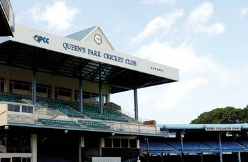 Queen's Park Oval. Photograph by Robert Taylor