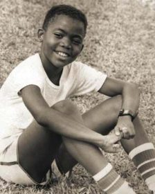 Machel Montano in 1986. Photograph courtesy TNT News Centre