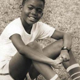 Machel Montano in 1986. Photograph courtesy TNT News Centre