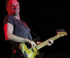 Sting at last years Jazz Festival. Photograph by Andrea De Silva