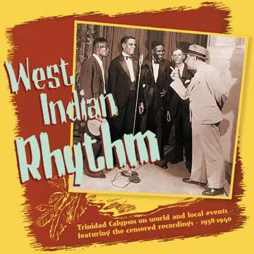 West Indian Rhythm Box Set. Photograph courtesy The Classic Calypso Collective