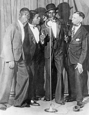 Left to right: Caresser, Atilla, Lion, Executor: a Sa Gomes publicity photograph from 1937. Photograph by © Kevin Burke