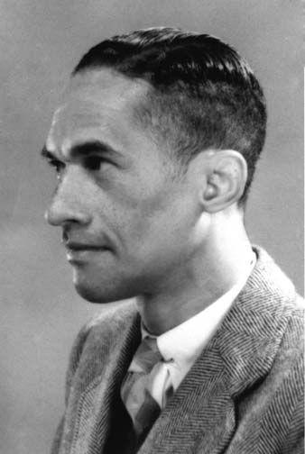 Edgar Mittelholzer. Photograph courtesy Herman Mittelholzer