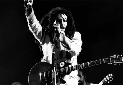 Live at London's Rainbow Theatre 1977. Photograph by UrbanImage.tv/56 HRM/Adrian Boot